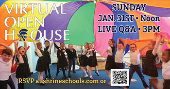 Shrine Catholic Grade School & Early Childhood Center Virtual Open House