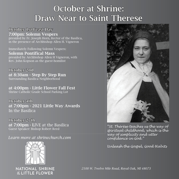 Draw Near to Saint Therese