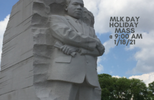 Mass on Martin Luther King, Jr. Holiday