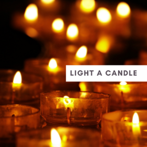 Light a candle in honor of your dearly departed