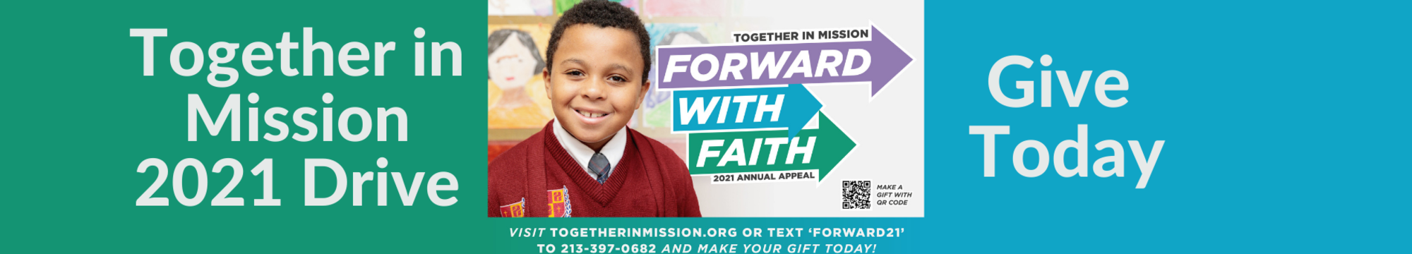 Together in Mission Campaign - Please Donate Today!