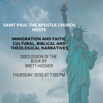 Immigration and Faith - Discussion with Author Brett Hoover