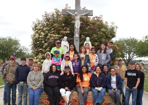 St. Jerome Cemetery clean-up 2014