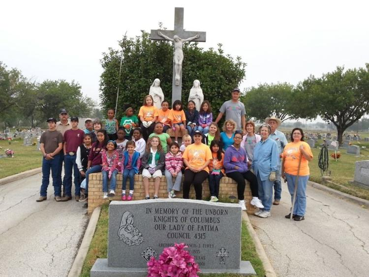 St. Jerome Cemetery clean-up 2013