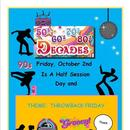Theme Dress Up Day on Friday, 10/2/2020