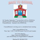 Cleared4School Zoom Info Session