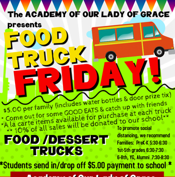 FOOD TRUCK FRIDAY!!