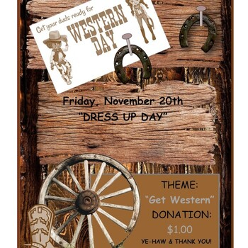 WESTERN DAY DRESS UP