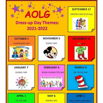 First Friday Theme Days!