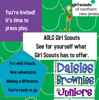 CALLING ALL GIRL SCOUTS!!