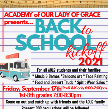BACK TO SCHOOL KICKOFF!