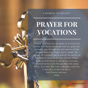 Archdiocesan Prayer for Vocations