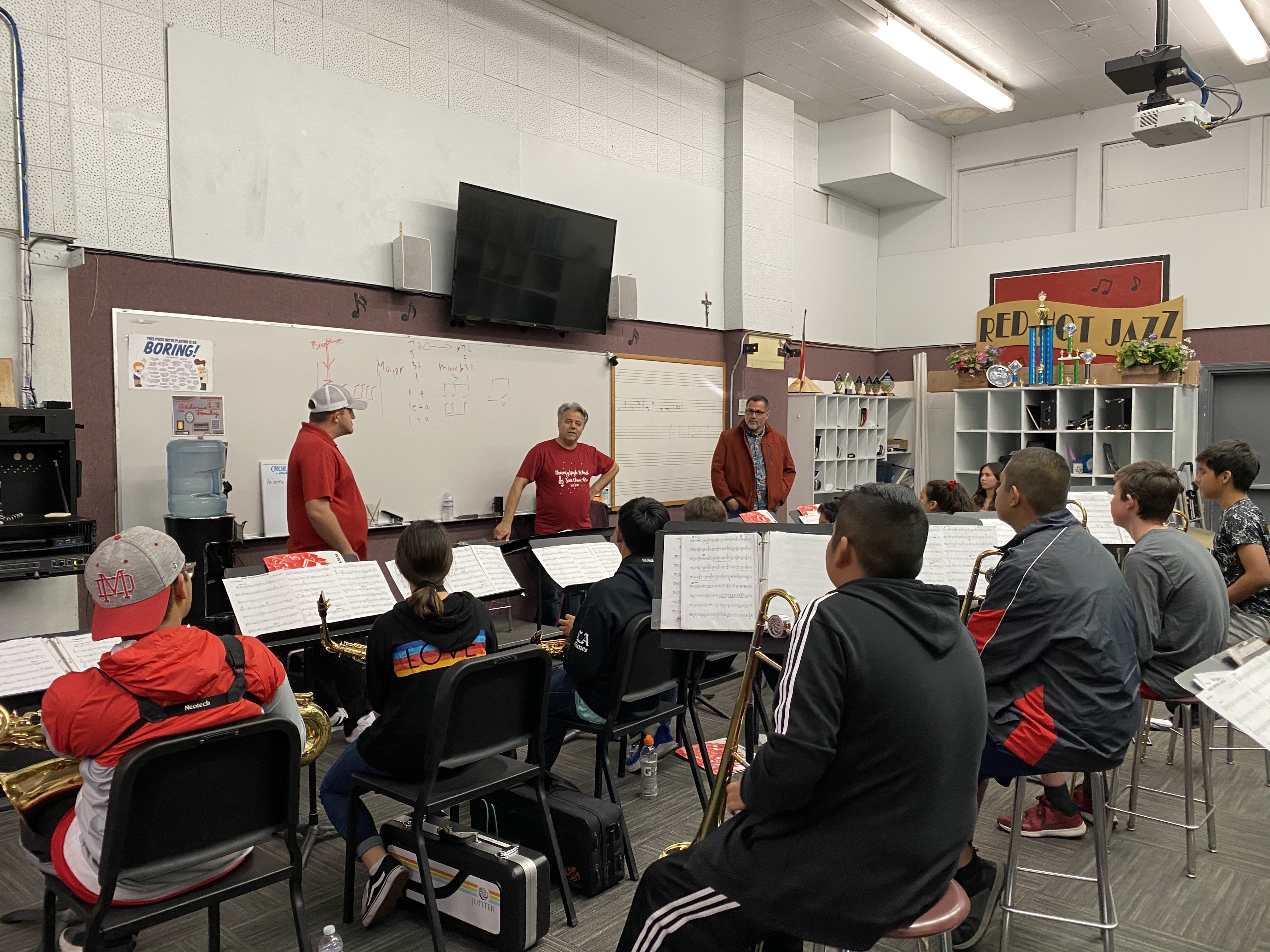 2019-2020 JAZZ BAND PERFORMS