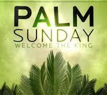 Palm Sunday Masses