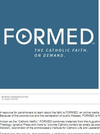 FORMED at ST. MARY OF THE ASSUMPTION