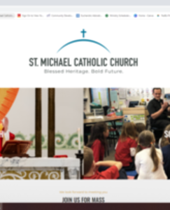 Church and School Launch New Websites