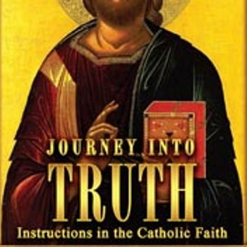 "Journey Into Truth - An ""Adult Catechism"" session."