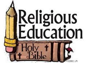 Religious Education - First day for students.