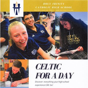 Celtic For A Day at Holy Trinity Catholic High School in Temple