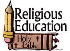 No Religious Education - Christmas break through January 2, 2019.
