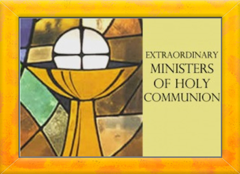 Extraordinary Ministers of Holy Communion Training for NEW Ministers.