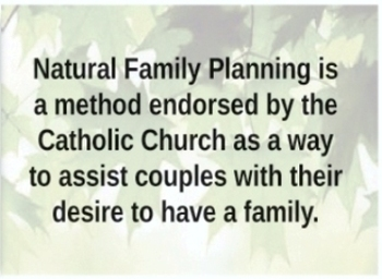 Natural Family Planning Symposium
