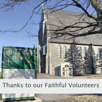 Thanks to our faithful volunteers who continue preparing the way for our gatherings