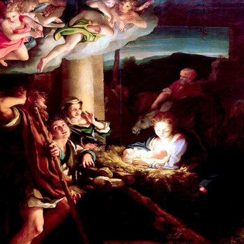 HODIE CHRISTUS NATUS EST - Today Christ is born
