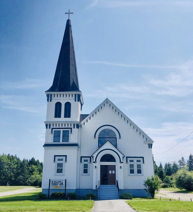 Saint William's Church in St. Martins, New Brunswick