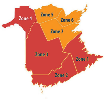Fredericton and Saint John regions of the Diocese in GNB 'Red' Level Protocols