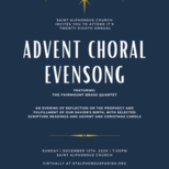 Miss the Advent Choral Evensong?