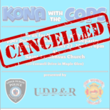 Kona with the Cops