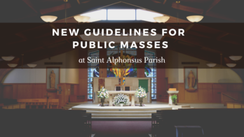 New Guidelines for Public Masses