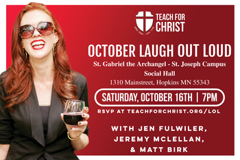 October Laugh Out Loud - Teach for Christ