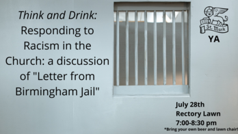 Think and Drink: Responding to Racism in the Church: A discussion of