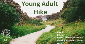 Hiking in Maplewood - St. Mark's Young Adults