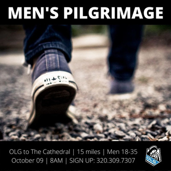 Men's Pilgrimage - Our Lady of Grace Young Professionals
