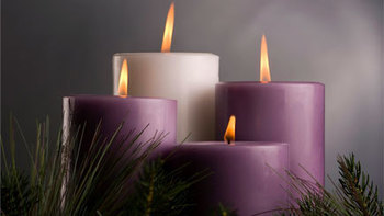 Join us for Advent Evening Prayer December 16 and 23 at 7:30 pm