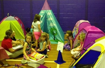 Camp-Out Week!