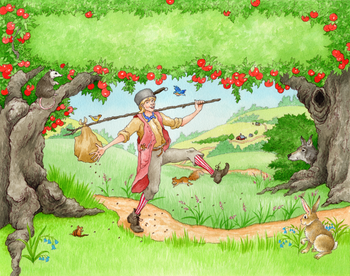 Happy Birthday Johnny Appleseed!