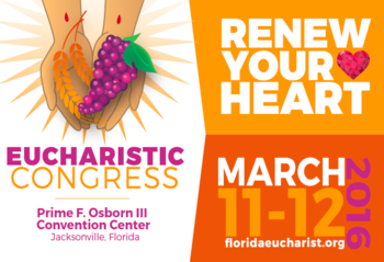 Eucharistic Congress is March 11th-12th