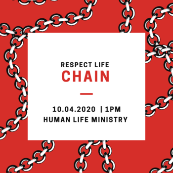 Respect Life Chain
