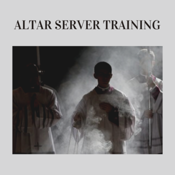 Altar Server Training for Traditional Latin Mass (TLM)