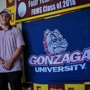 Brent Salas signs with Gonzaga University