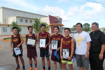 Homecoming Cross Country race against St. Johns was a win!