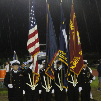NJROTC Seniors Cadets Perform at Homecoming
