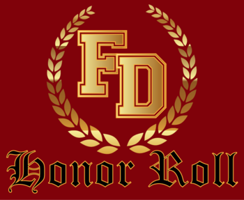 Honor Roll List for SY16/17