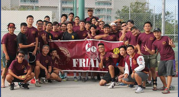 Friars Win Tennis Title