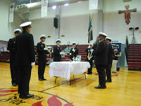 FD Cadets Pause for the National POW/MIA Recognition Day