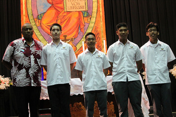 Four receive Student of the Quarter for Respective classes
